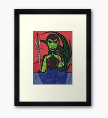 Stay out of my Realm Framed Print