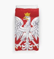 Poland Coat of Arms Duvet Cover