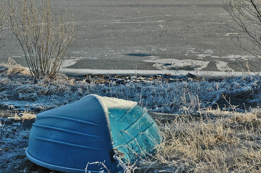 Winter Boat by Cammi