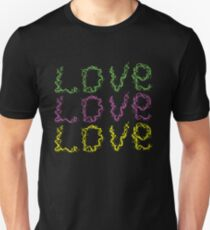 Tripple Love  - Mothers Day Gift Unisex T-Shirt
