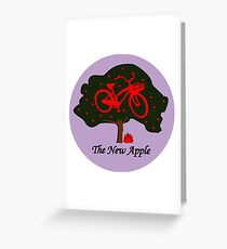 Apple A Day Logo Greeting Card