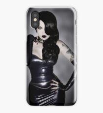 Violet Eyes - Dark Jessica 1 iPhone Case