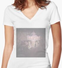 Carousel Women's Fitted V-Neck T-Shirt