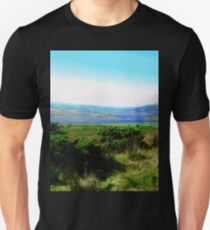 The View from Grianan of Aileach, Donegal, Ireland T-Shirt