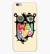 Big Weirdo - beige iPhone Case