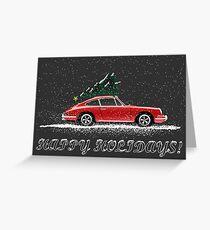 Christmas 911 Greeting Card
