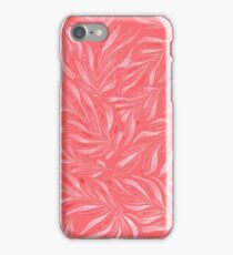 Pink Foliage III iPhone Case/Skin