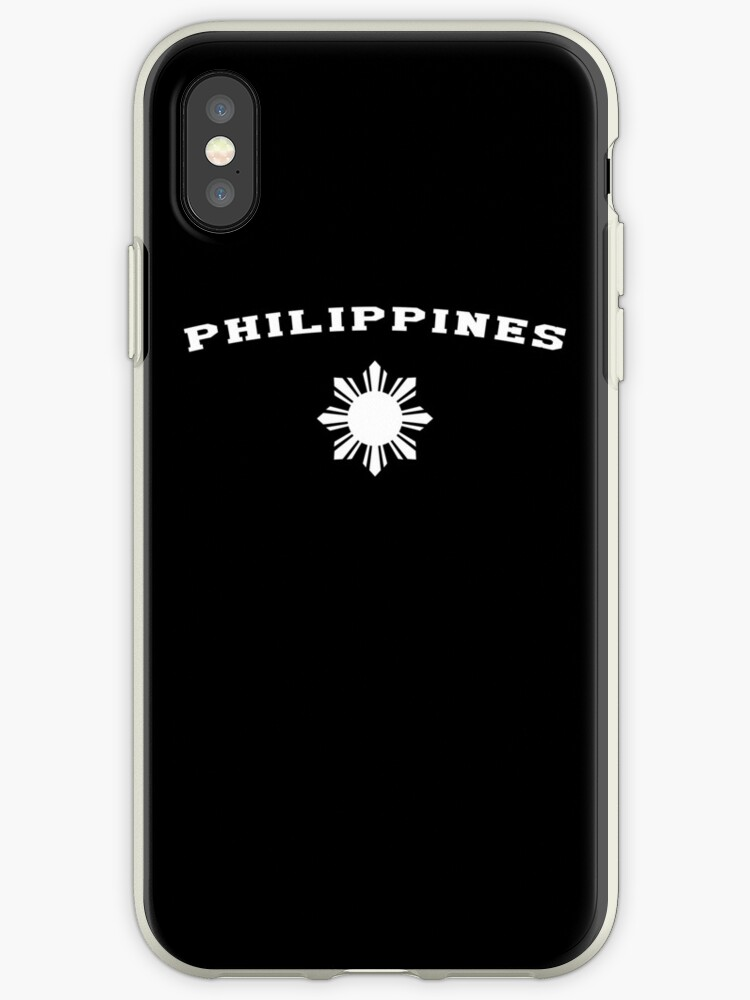 d3a5f88f42 'Philippines Pilipinas Flag Sun' iPhone Case by banwa