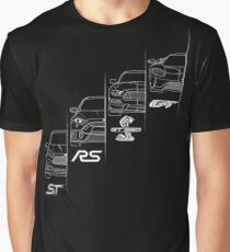 Ford Performance (White) Graphic T-Shirt