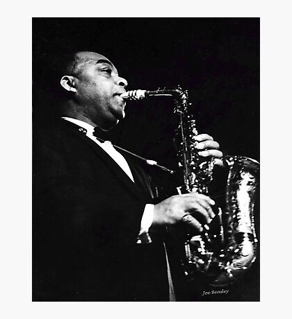 Big Band Sax Photographic Print
