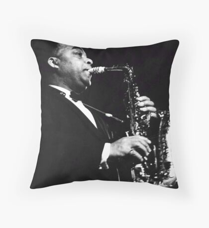 Big Band Sax Throw Pillow