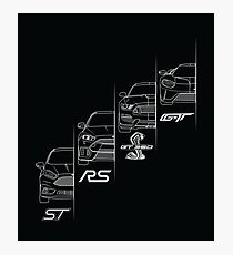 Ford Performance (White) Photographic Print