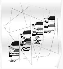 Ford Performance (Black) Poster