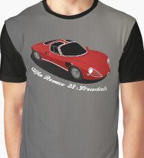 Alfa Romeo 33 Stradale Graphic T-Shirt
