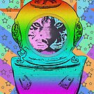 TIGER ASTRONAUT by fuxart