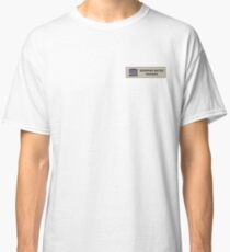 Norman Bates motel manager Classic T-Shirt