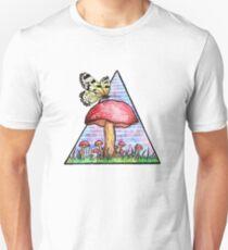 Butterfly Mushroom Unisex T-Shirt