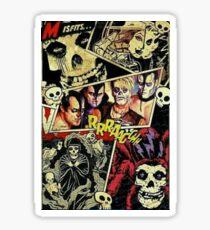 Classic Horror Punk Sticker