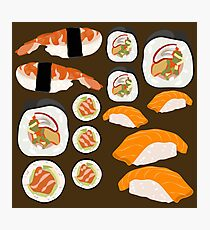 I'm craving Sushi Photographic Print