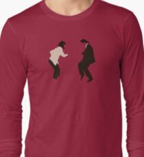 Mia and Vincent  - Pulp Fiction - top selling Long Sleeve T-Shirt