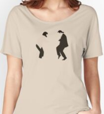 Mia and Vincent  - Pulp Fiction - top selling Women's Relaxed Fit T-Shirt