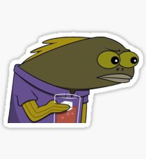 Fish MEME Sticker
