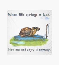 Turtle in a leaking pool Scarf