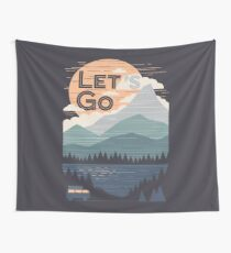 Let's Go Wall Tapestry