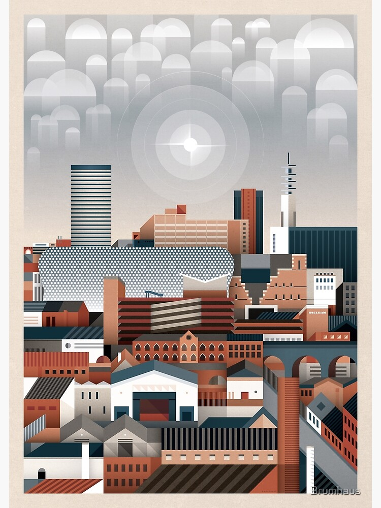 Birmingham Cityscape II by Brumhaus