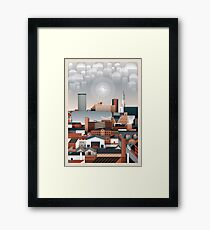 Birmingham Cityscape II Framed Print