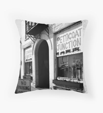 Petticoat Junction Throw Pillow