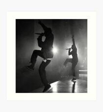 Kendrick Lamar & Travis Scott Art Print