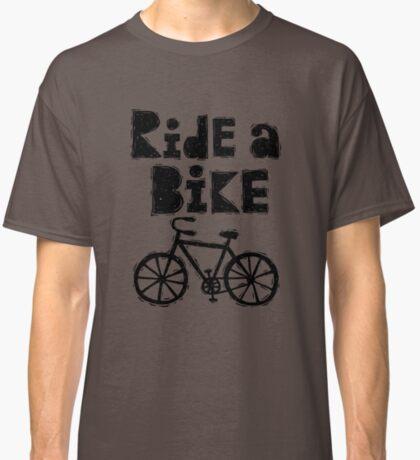 Ride a Bike - woody Classic T-Shirt