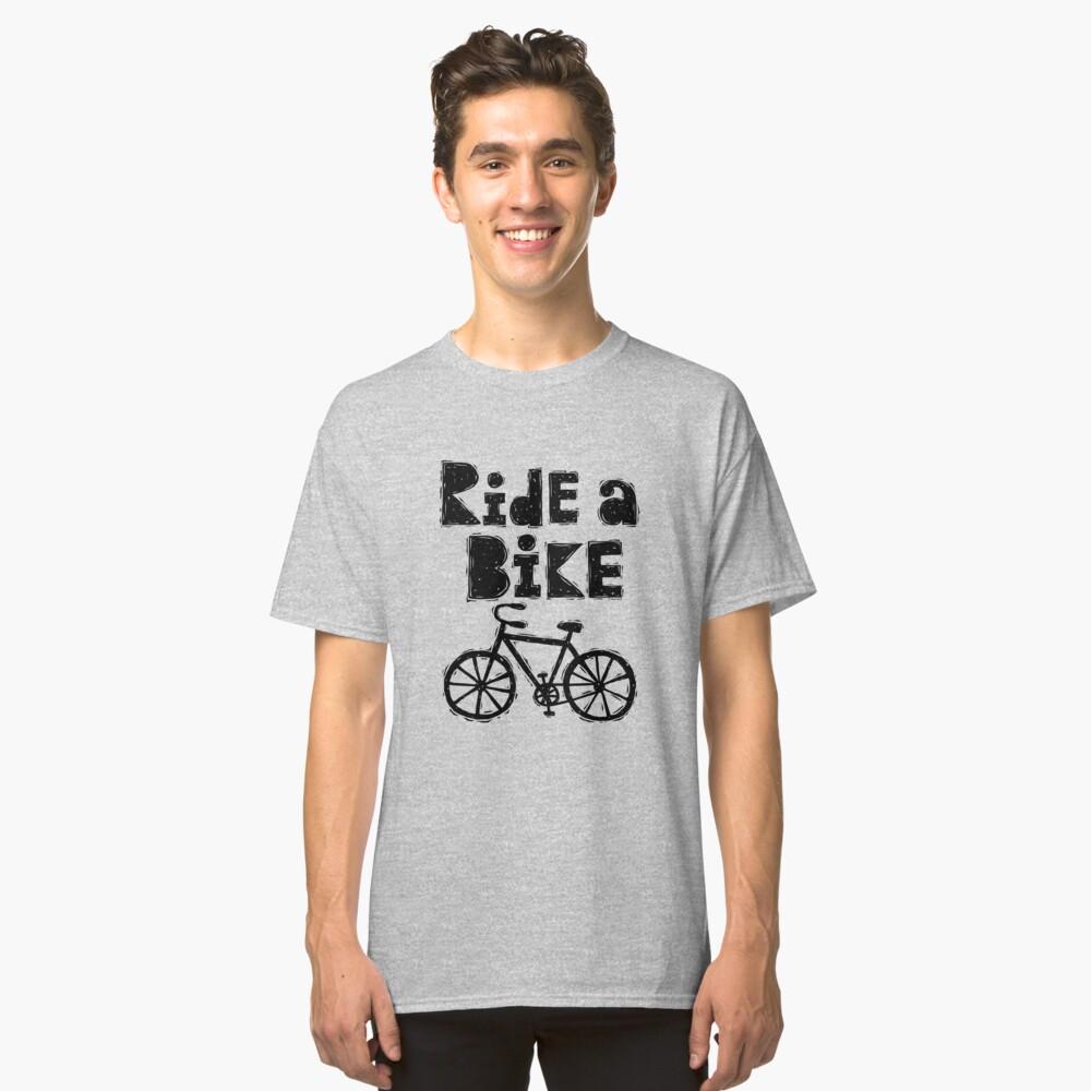 Ride a Bike - woody Classic T-Shirt Front