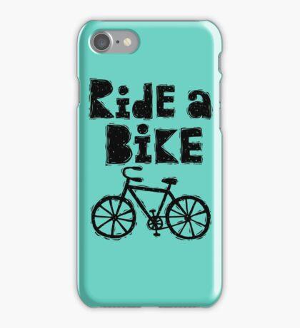 Ride a Bike - woody iPhone Case/Skin