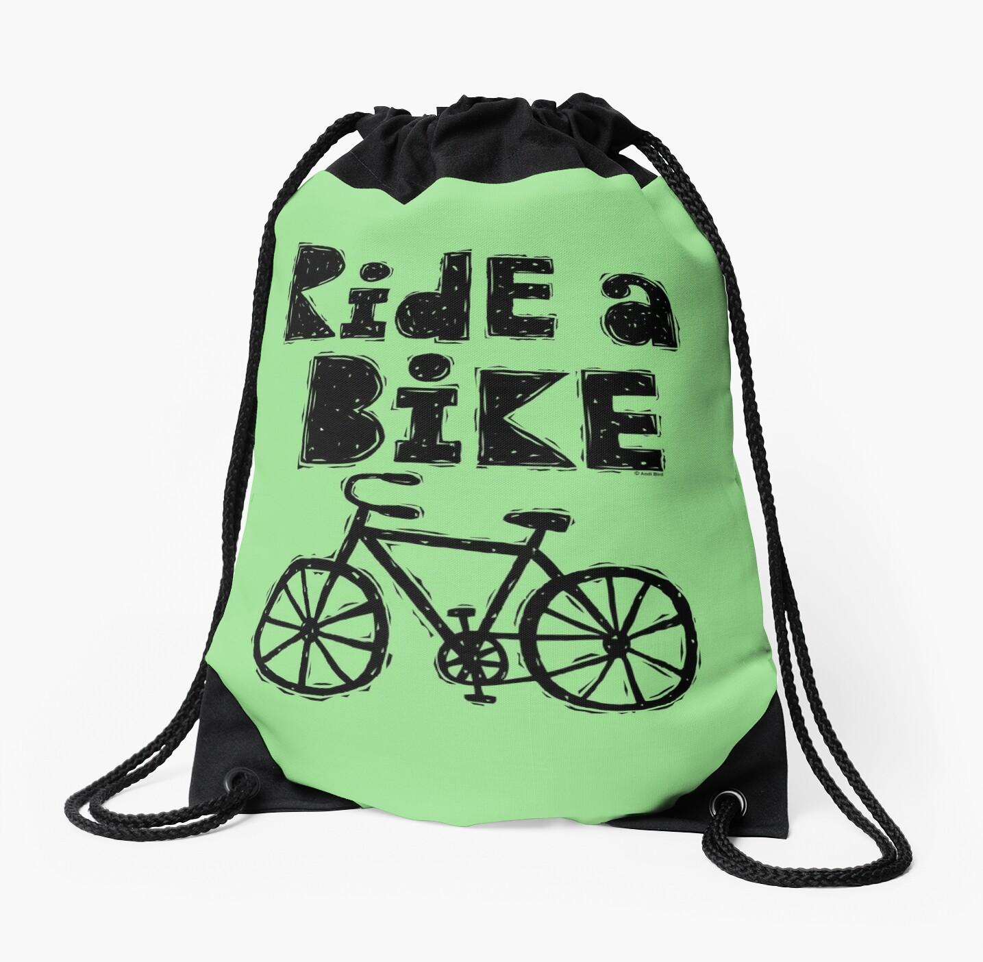 Ride a Bike - woody by Andi Bird