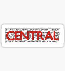 Central Line Sticker