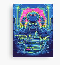 Lord Snowball - Rick and Morty Canvas Print
