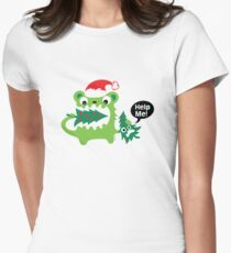 Help Me! Womens Fitted T-Shirt