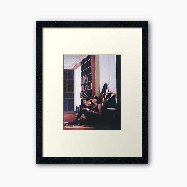 The Reading Framed Art Print