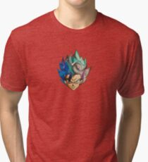 Goku Galaxy Tri-blend T-Shirt