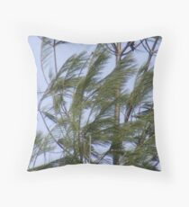 wind storm Throw Pillow