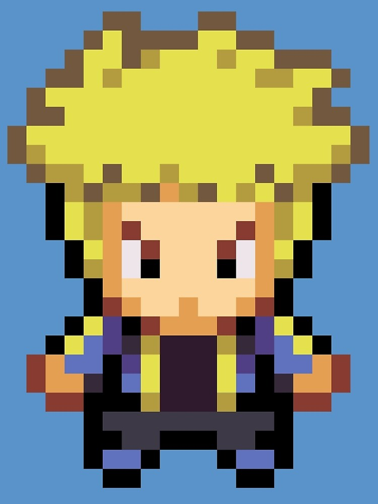 Volkner Overworld Sprite by fourfourfour