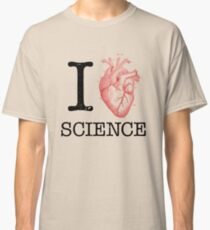 I Love Heart Science - Biology Classic T-Shirt