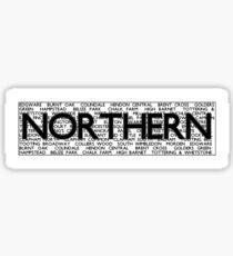 Northern Line Sticker