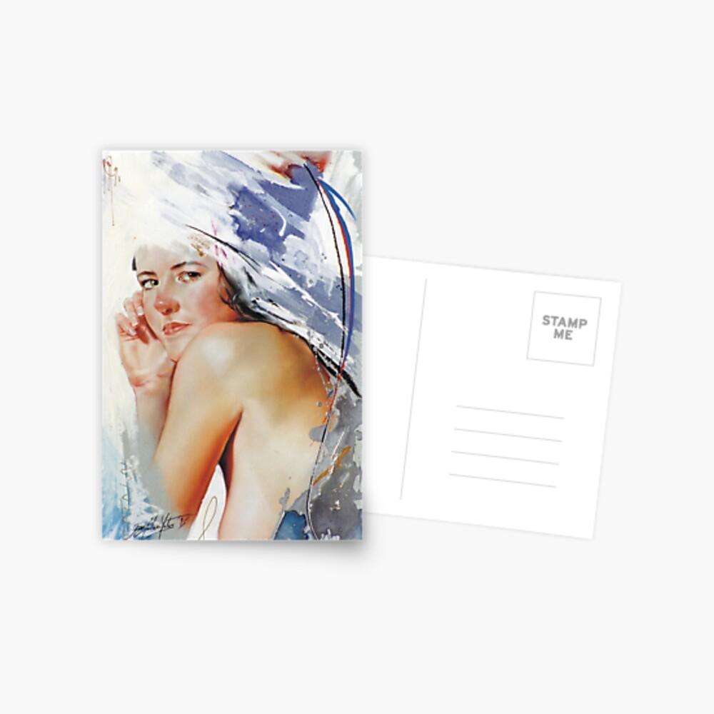 Ate Postcard