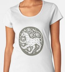 Cheetah - africa, cat, wildcat, jungle, leopard Women's Premium T-Shirt