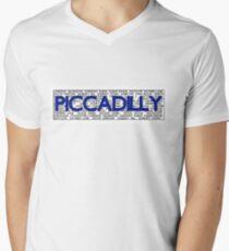 Piccadilly Line Men's V-Neck T-Shirt
