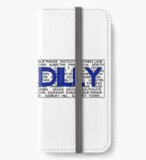 Piccadilly Line iPhone Wallet/Case/Skin