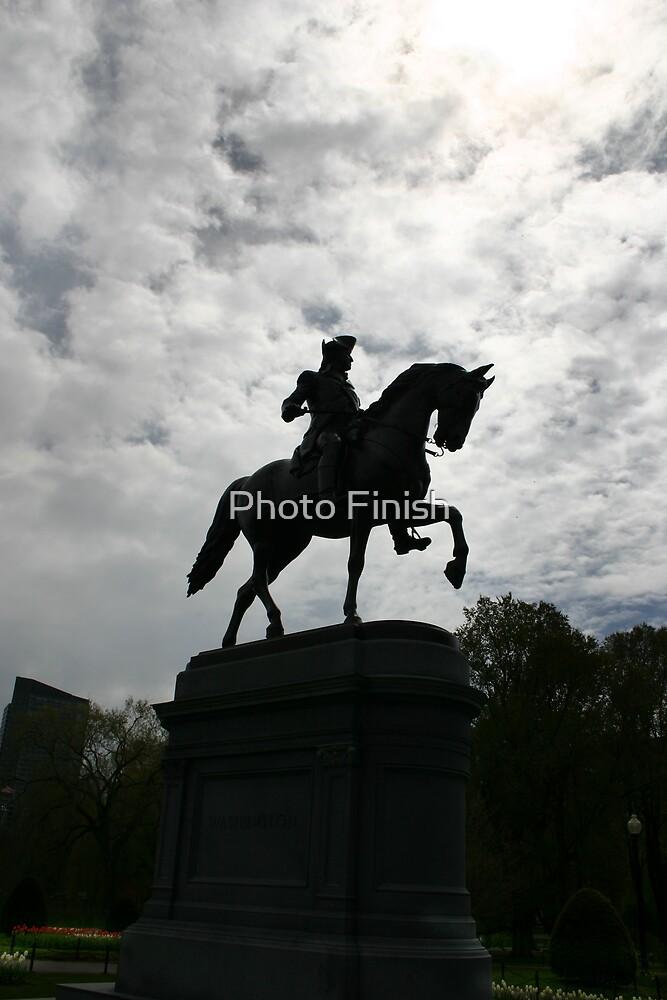 George Washington by Photo Finish
